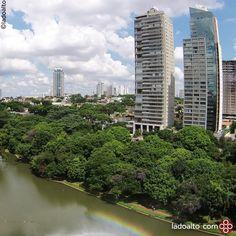 Parque Areião - Goiânia #ladoalto #drone #fotografia #goiania