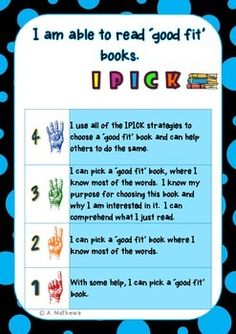 Reading Fluency Strategies- Learning Goals and Scales {Daily CAFE)