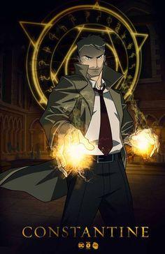 John Constantine #Hellblazer #animatedserie #DCcomics #Vertigo