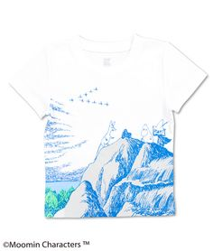 Moomin Short Sleeve(Moomin on the Rocks)(KidsT)