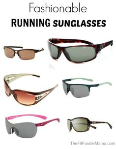 Fit'n'Fashionable: Stylish Running Sunglasses | The Fit Foodie Mama