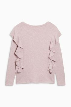 Buy Blush Cosy Ruffle Top from the Next UK online shop