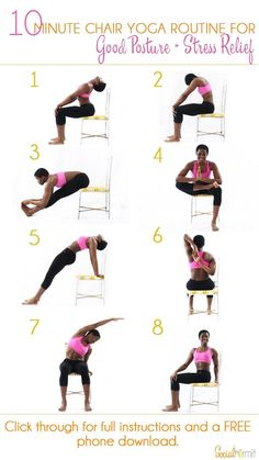10 Minute Chair Yoga Routine