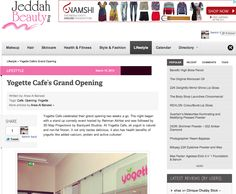 Jeddah beauty blog post about our grand opening