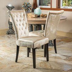 Paulina Champagne Dining Chair (Set of 2) Great Deal Furniture http://www.amazon.com/dp/B00JGX0CSW/ref=cm_sw_r_pi_dp_uVL8vb029WDJM
