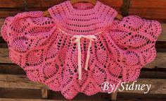 Sidney Artesanato: Modinha  Mariana....vestidinho rosa.