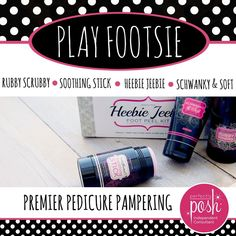 Perfectly Posh Pampering Products- Heebie Jeebie Foot Peel Kit! Literally gives you brand new feet! Perfectly posh.com/alexandriataylor
