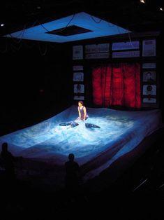 Example of Color ------------ Shipwrecked! Scenic design by Robin Vest. Stage Set Design, Set Design Theatre, Royal Ballet, Bühnen Design, Dark Fantasy Art, Alvin Ailey, Body Painting, Scenic Design, Elements Of Design
