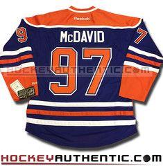 Connor McDavid Edmonton Oilers home Reebok jersey | Hockeyauthentic.com