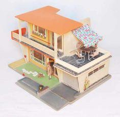 haus kathrin vintage modern dollhouse furniture 1200 etsy