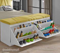 Bedroom Closet Design, Bedroom Furniture Design, Room Ideas Bedroom, Home Room Design, Master Bedroom Design, Home Decor Furniture, Home Decor Bedroom, Bed Designs With Storage, Storage Ideas