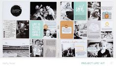 Project Life Weeks 21  22 by Kelly Noel