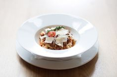 #Tagliatelle s bolognskou směsí // www.bistrofranz.cz Pasta, Tagliatelle, Pasta Recipes, Pasta Dishes
