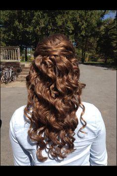Groovy Half Up Updo And Pearls On Pinterest Short Hairstyles Gunalazisus