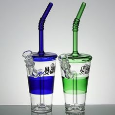 Convertible Solo Cup Rig - The Straw Fashioned Mathematix Glass! $298.99  http://www.headshopway.com/convertible-solo-cup-rig/  #cannabis #weed #marijuana #rigs #glassrig #smokeweedeveryday