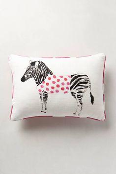 Lauren Carlson Walcott Safari Saunter Pillow #girlsbedroom #anthrofave
