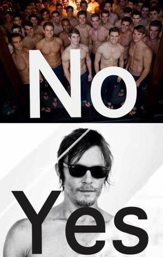Yes, Norman Reedus.