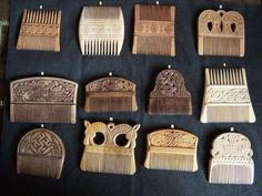 Viking Combs. The Vikings were very particular about their hair.
