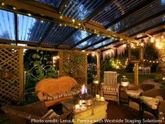 Transform a Yard Into an Outdoor Sanctuary | Realtor Magazine Tips on Staging Outdoor Spaces. Inspiration for YOUR yard!