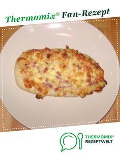 Schmandschiffchen von carölchen. Ein Thermomix ® Rezept aus der Kategorie Backen herzhaft auf www.rezeptwelt.de, der Thermomix ® Community.
