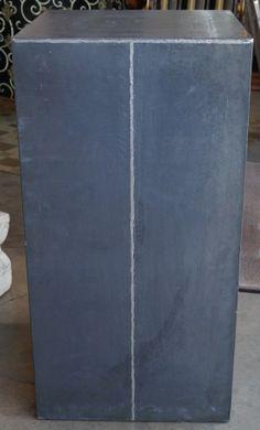 Pedestal de plomo md.330-10 (L 0,50 x F 0,50 x h 1,00 ) Unidades disponibles 1
