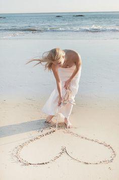 ~ heart on sand - beach summer I Love The Beach, Summer Of Love, Summer Time, Summer Days, Summer Beach, Paradis Tropical, Beach Cottages, Beach Houses, Summer Breeze