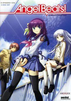 Angel Beats! /// Genres: Action, Comedy, Drama, School, Supernatural