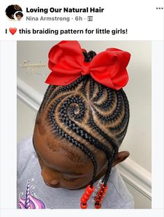 Black Toddler Girl Hairstyles, Little Girls Natural Hairstyles, Toddler Braided Hairstyles, Childrens Hairstyles, Cute Little Girl Hairstyles, Little Girl Braids, Black Girl Braids, Cute Girls Hairstyles, Braids For Black Hair