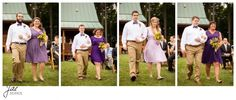 Sam and Hilary, Lynchburg Wedding Session 2014, Sierra Vista, Groomsmen, Bridesmaids, Sunflowers, Bow Ties, Flowers, Khakis, Walking, Ceremony