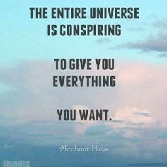 Yes it is! Like and share if you agree. #lawofattraction #universe #abrahamhicks