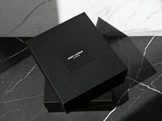 Saint laurent packaging more packing jewelry, black packaging, pretty packa