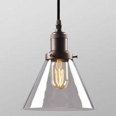 Mini Pendant Light with Clear Glass Mini pendant lights Mini
