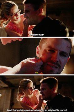 "#Arrow 4x03 ""Restoration"" - Oliver & Felicity"