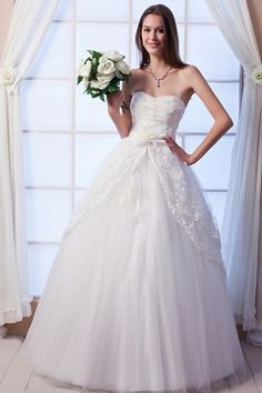 designer wedding gown online sale , Elegant Empire Strapless Tulle and Lace Floor-Length Wedding Dress Outdoor Wedding Dress, Tulle Wedding Gown, Wedding Dress 2013, Popular Wedding Dresses, Cheap Wedding Dress, Bridal Dresses, Lace Wedding, Bridesmaid Dresses, Silhouette