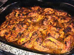 Oregánós, pácolt pulyka Iron Pan, Chicken, Kitchen, Food, Cooking, Kitchens, Essen, Meals, Cuisine
