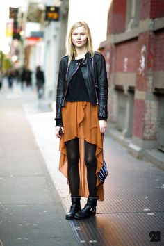outfits, cloth, color combos, skirts, latest fashion, street styles, leather jackets, wear, black