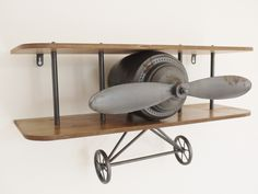 Retro Aeroplane Shelf from Olive and Sage