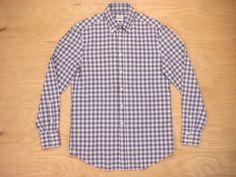Brunello Cucinelli Brunetto Cucinelli Cotton Check Basic Fit Button Down Shirt S Size S $113 - Grailed