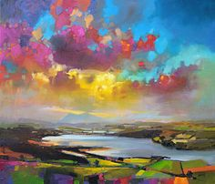 Struie Hill Dornoch Print by Scott Naismith