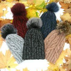"""Wome's winter hats """"Flocart"""" multi-colored Handicraft, Knitted Hats, Knitwear, Winter Hats, Knitting, Stylish, Color, Design, Fashion"""