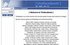 Facebook Screenshot 2004
