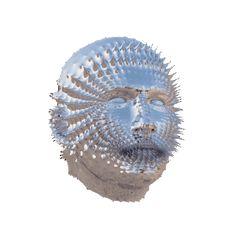 Silver Mask  GIF
