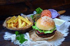 Kefta burger - domowe burgery z marokańską keftą