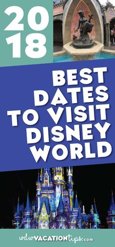 I get the question of the when is the best dates to visit Walt Disney World a lot! And it's for a good reason. The time of year you visit Walt Disney World can have a HUGE impact on both the cost and quality of your vacation experience.