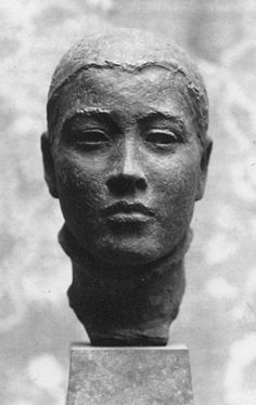Georg Kolbe (Germany 1877-1947), Junge Russin, 1924. Although his work appealed to the Nazis, many of Kolbe's 1000 sculptures were destroyed by confiscation, bombing and melting for war purposes. Collection Georg Kolbe Museum, Berlin.