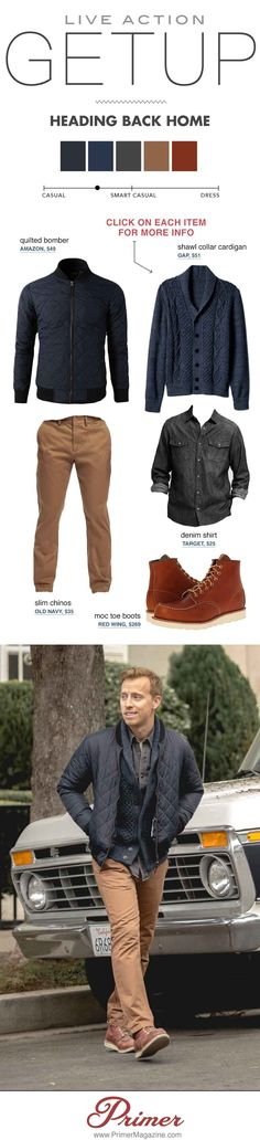 men casual fall winter outfit style inspiration