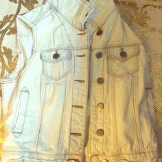 Light wash denim vest Light wash denim vest Mossimo Supply Co Jackets & Coats Vests