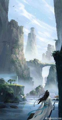 Home Discover Ideas nature animals drawings anime girls for 2019 Fantasy Art Landscapes Fantasy Landscape Fantasy Artwork Landscape Art Samurai Artwork Chinese Artwork Realistic Eye Drawing Chinese Landscape Fantasy Places Fantasy Art Landscapes, Fantasy Landscape, Landscape Art, Beautiful Landscapes, Fantasy Concept Art, Fantasy Artwork, Fantasy Places, Fantasy World, Image Japon
