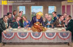 Mad Magazine Gets In On The Donald Trump Action