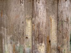 How to Make New Wood Look Old and Rough. Includes directions and tips, such as... Raise the wood's grain by wetting it with water. To create a rough surface, sand with coarse sandpaper or scrub with a scrubbing brush or wire brush...